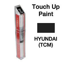 Hyundai OEM Brush&Pen Touch Up Paint Color Code : TCM - Ash Black