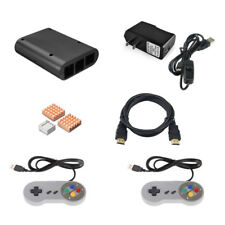 Raspberry Pi 3 Model B Retropie Game Console Accessories with Gamepad & ABS Case
