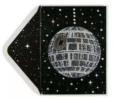 Papyrus Star Wars Disco Death Star Birthday Card Gems Glitter Globe Ball