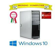 COMPUTER HP XW 4600 / CPU INTEL CORE 2 DUO 3,0 GHZ / 8 GB RAM / WINDOWS 10 PRO
