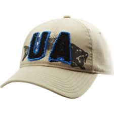 Under Armour Hat, UA Fish Cap, Tattered UA Logo , OSFA, New With Tags