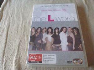 The L Word : Season 1 (DVD, 2007, 4-Disc Set) Region 4 Jennifer Beals