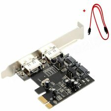 PCI-E Express SATA3 SATA3.0 6Gb/s eSATA SATA III Card w/SATA Data Cable ASM1061