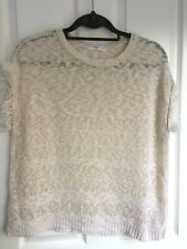 Mango cream jumper - Size S
