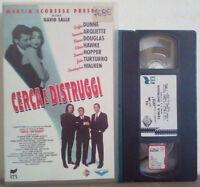 VHS FILM Ita Thriller CERCA E DISTRUGGI filmscale rcs ex nolo no dvd cd lp(V192)