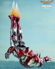 (USA) Hot Toys Iron Man XLVII 47 MMS 427 D19 FLAME BLAST Feet Effect Homecoming
