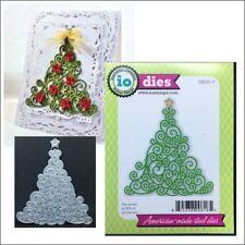Swirly Christmas Tree metal die Impression Obsession cutting dies DIE091-P