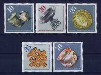 ALEMANIA/RDA EAST GERMANY 1976 MNH SC.1775/79 Archeological finds in DDR