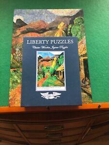 Liberty classic wooden jigsaw puzzle- Street in Tahiti by Paul Gauguin- 454 pcs