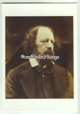 su2704 - Lord Alfred Tennyson, sold to help National Portrait Gallery - postcard