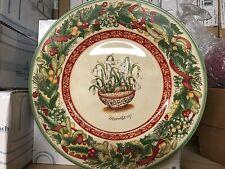 Villeroy & Boch FESTIVE MEMORIES Snowdrop Plate