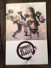 Zombies Vs Robots Chris Ryall Ashley Wood Hardcover IDW