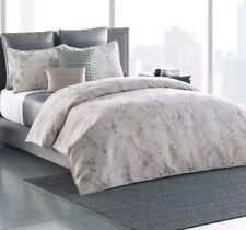 Simply Vera Wang Floral Shadow Comforter 3pc Set ~ King ~ Gray Silver