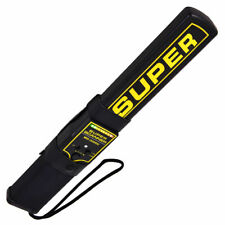 Ironmax Portable Security Hand Held Metal Detector Wand Body Scanner w/Belt Clip