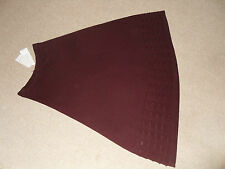 Per Una redwood colour long skirt very stylish & comfortable  - size 12