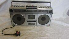 Sharp GF-9090 Portable Stereo Cassette Boom Box