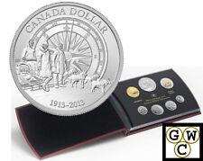 2013 Special-Edit. Specimen Set w/CDN Arctic Expedition Pure Silver $1 (13261)