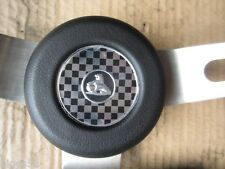 HOLDEN HK HT HG HORN BUTTON  MONARO GTS LC GTR STEERING WHEEL BLACK NEW TORANA