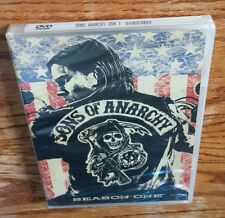 Sons Of Anarchy: Season One (DVD, 2009) 1 1st first Charlie Hunnam soa NEW