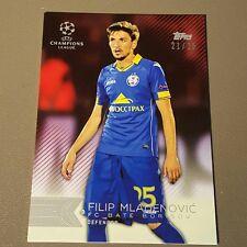 Filip Mladenovic Red 21/25 2015-16 Topps UEFA Champions League Showcase