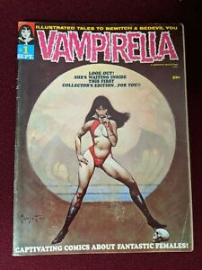 VAMPIRELLA #1 WARREN 1969 ORIGINAL VG+