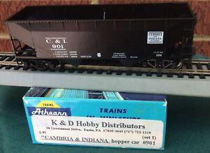 Athearn K&D Hobby Ltd Special Run HO Cambria & Indiana RR Hopper C&I 901 KDs