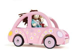 NEW Le Toy Van Wooden Sophie's Pink Car