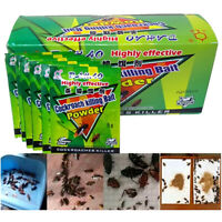 5Pack of German Cockroach Killing Bait Powder Remove Killer Insect Pesticides