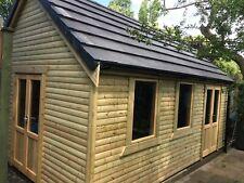 More details for 24x10 timber framed outbuilding workshop summer house offices shed log cabin uk