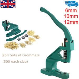 3 Die Pack 900 Grommet Grommet Eyelet Hand Tool Banner Press Punch Machine Green