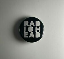 Radiohead 1� Button R014B Pin Badge Ok Computer The Bends In Rainbows