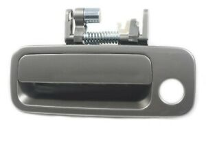 For Toyota Camry 1997-2001 Non-Painted Black Outside Door Handle Front Left