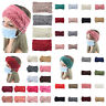 Knitted Knot Headband Head Wrap Ear Hair Band Winter Crochet Turban Women Ladies