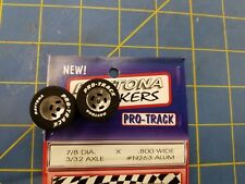 Pro Track #N263 Daytona stockers 7/8 x .800 rear Tires 3/32 axle Mid America