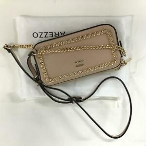 Arezzo Giorno Light Pink Side Bag with Gold Chain Details & Dust Bag #622