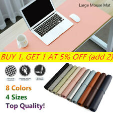 New Large Leather Computer Desk Mat Table Game Keyboard Mouse Pad Cushion