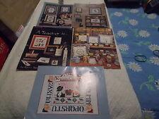 Lot Of 5 craft books Cross-Stitch