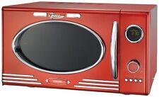 Melissa 16330088 Retro Design Mikrowelle Grill rot Classico Mikrowellenherd BW