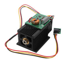 3W 3000mW Blue Laser Module 450nm Violet Light für DIY Graviermaschinen Engraer