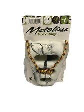 Metolius Rock Rings 3D Set of 2 Black and White Rock002 Fine Texture New