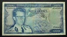 Congo Belge et Ruanda-Urundi - 1000 Francs - 1er septembre 1959