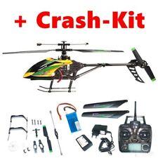 RC Hubschrauber 4-Kanal Gyro Heli, 2,4GHz 4Kanal Kameravorbereitung + Crash-Kit