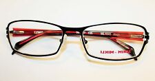 BRAND NEW ALAIN MIKLI ML1040 0001 BLACK RED AUTHENTIC EYEGLASSES RX 55-17-135