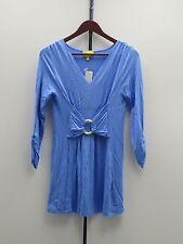 Liz Lange 3/4 Sleeve Ultimate Tunic Top - XS - Powder Blue