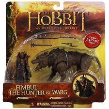 """The Hobbit 3.75"""" Beast Figure Pack Fimbul The Hunter & Warg"""