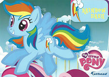 RAINBOW DASH MY LITTLE PONY FATHEAD TRADEABLES REMOVABLE STICKER HASBRO MLP 2015