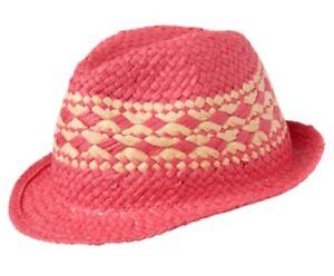 New Gymboree Safari Twirl Pink Straw Hat NWT Girls 0-12 M