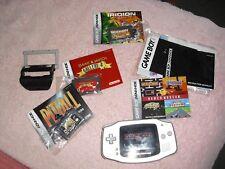 Gameboy Advance- AGB-001 - Bag - 4 Games - Light