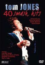 Tom Jones: 40 Smash Hits DVD [2004] Region Free (120 Mins) In Mint Condition