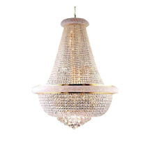 Gold Crystal Chandelier Light Modern Chrome Chandeliers Lustre Light Lighting